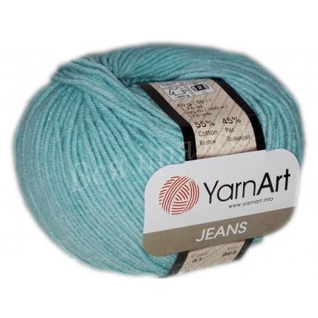 JEANS YarnArt 81 (Лазурный)