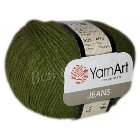 JEANS YarnArt 82 (Хаки)