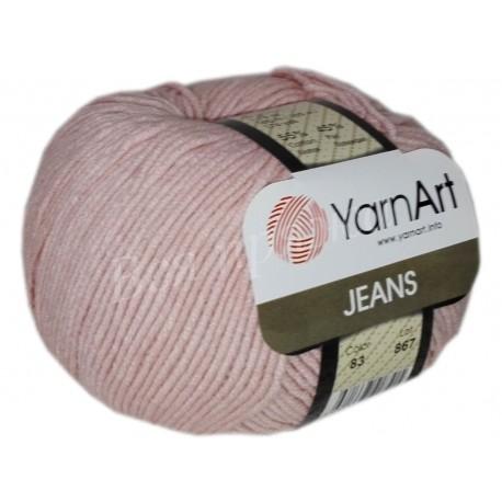 JEANS YarnArt 83 (Пудровый)