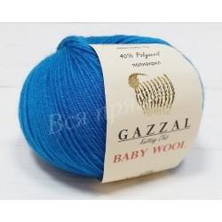BABY WOOL Gazzal 822 (Темная бирюза)
