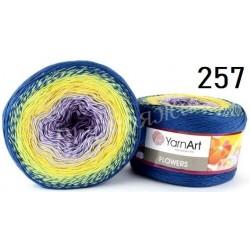 FLOWERS YarnArt 257