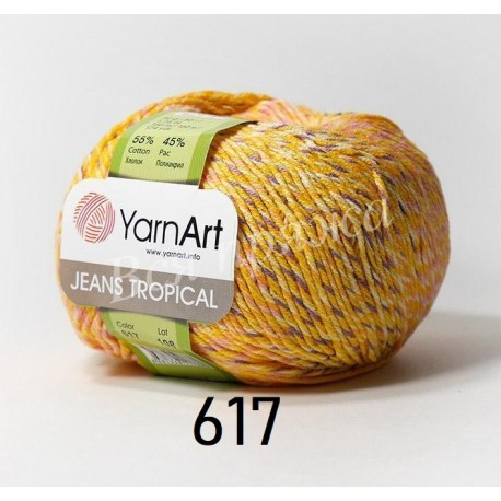 JEANS TROPICAL YarnArt 617
