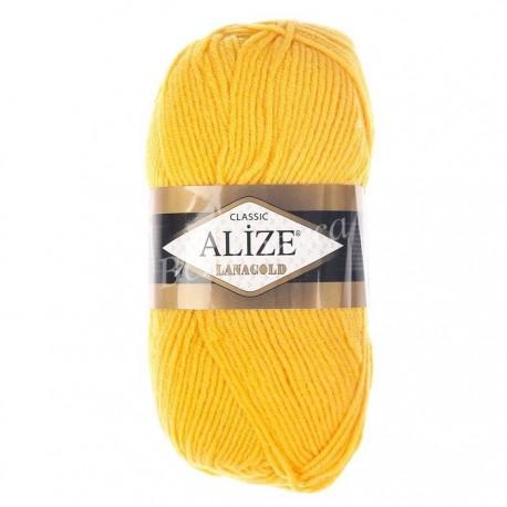 LANAGOLD FINE Alize 216 (Желтый)