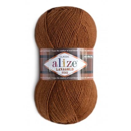 LANAGOLD FINE Alize 373 (Ирис) - Снят с производства