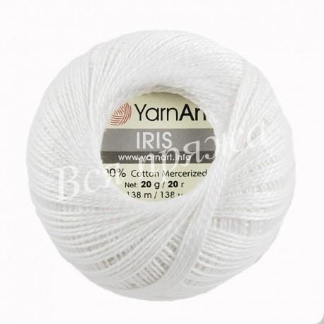 IRIS YarnArt 910 (Белый)
