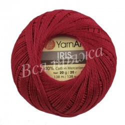 IRIS YarnArt 916 (Красный)