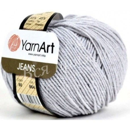 JEANS YarnArt 80 (Пепельный)