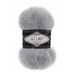 MOHAIR CLASSIC Alize 21 (Серый)