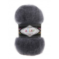 MOHAIR CLASSIC Alize 53 (Темно-серый)