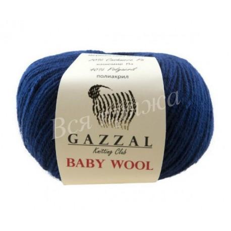 BABY WOOL Gazzal 802 (Темно-синий)