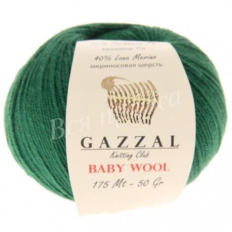 BABY WOOL Gazzal 814 (Темно-зеленый)