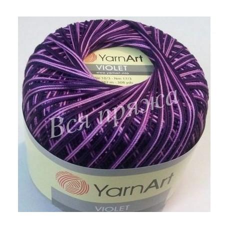 VIOLET MELANGE YarnArt 68 (Фиолетовый) - Снят с производства