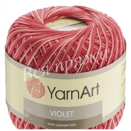 VIOLET MELANGE YarnArt 91 (Красный) - Снят с производства