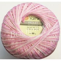 VIOLET MELANGE YarnArt 3051 (Розовый)