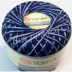 VIOLET MELANGE YarnArt 189 (Сине-голубой)