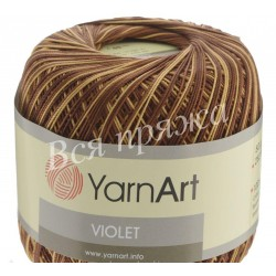 VIOLET MELANGE YarnArt 17 (Коричневый)