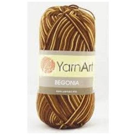 BEGONIA MELANGE YarnArt 0012 (Желто- коричневый)