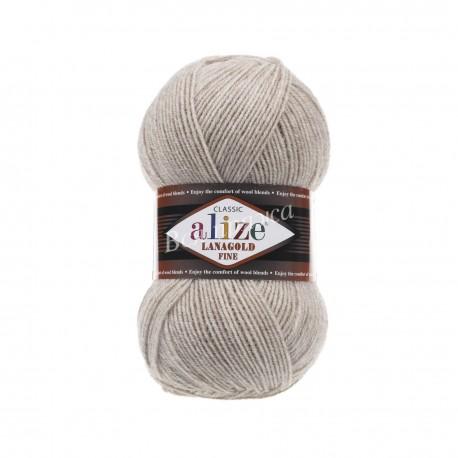 LANAGOLD FINE Alize 152 (Беж меланж)