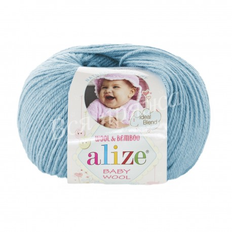 BABY WOOL Alize 128 (Морская вода)