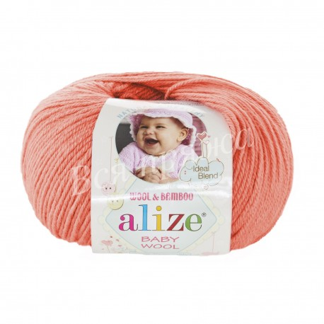 BABY WOOL Alize 619 (Коралл)