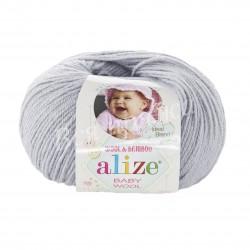 BABY WOOL Alize 52 (Талая вода)