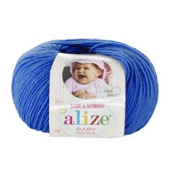BABY WOOL Alize 141 (Василек)