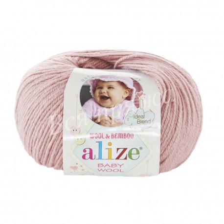 BABY WOOL Alize 161 (Пудра)