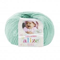 BABY WOOL Alize 19 (Водяная зелень)
