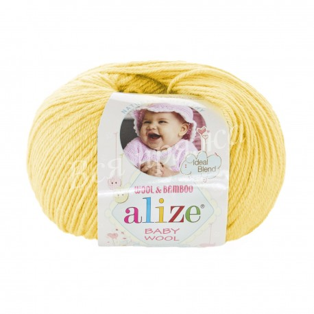 BABY WOOL Alize 187 (Лимон)