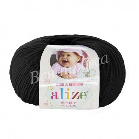 BABY WOOL Alize 60 (Черный)