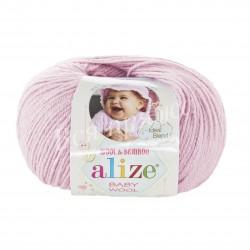 BABY WOOL Alize 184 (Пудра)