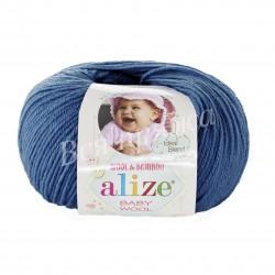 BABY WOOL Alize 279 (Джинс)