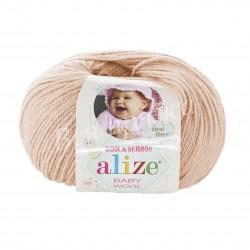 BABY WOOL Alize 382 (Пудра)