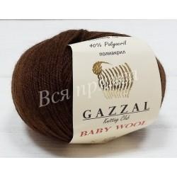 BABY WOOL Gazzal 807 (Коричневый)