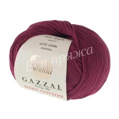 BABY COTTON Gazzal 3442 (Бордо)