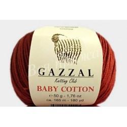 BABY COTTON Gazzal 3453 (Темный Терракот)