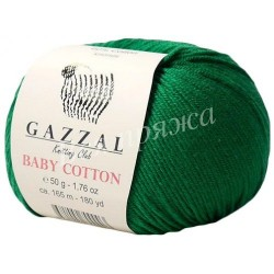 BABY COTTON Gazzal 3456 (Зеленый)