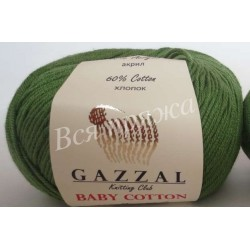 BABY COTTON Gazzal 3449 (Темно-зеленый)