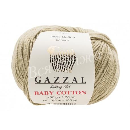 BABY COTTON Gazzal 3464 (Темный беж)