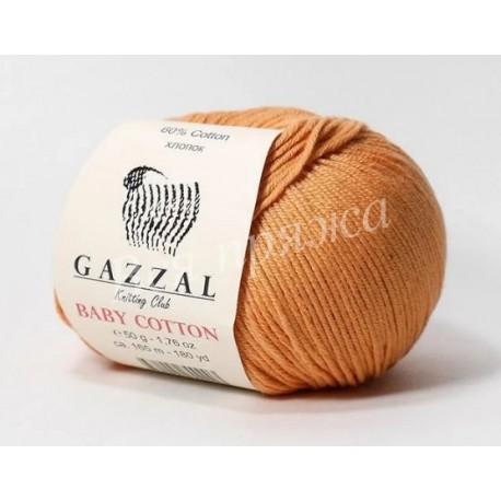 BABY COTTON Gazzal 3465 (Темный персик)