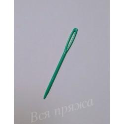 Игла пластиковая для сшивания вязаных деталей. 7 см