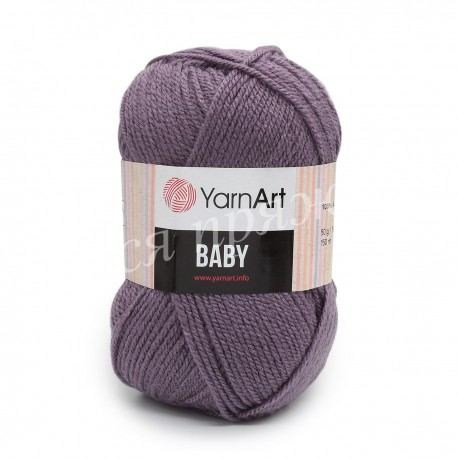 BABY YarnArt 852 (Сливовый)