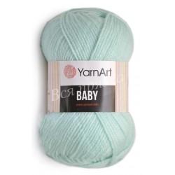BABY YarnArt 856 (Светлый бирюзовый)