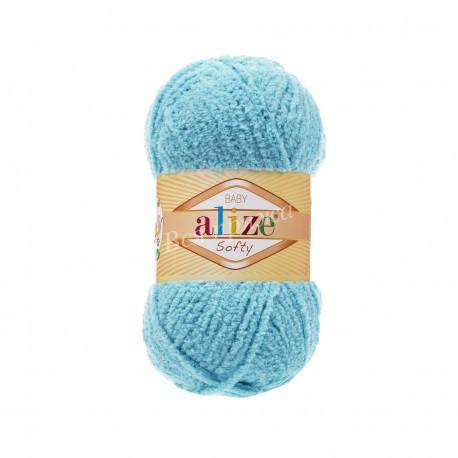 SOFTY Alize 128 (Светло-бирюзовый)