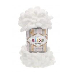 PUFFY Alize 55 (Белый)