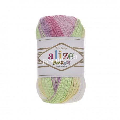 BAHAR BATIK Alize 1822 (Розовый-Лимон-Салатовый)