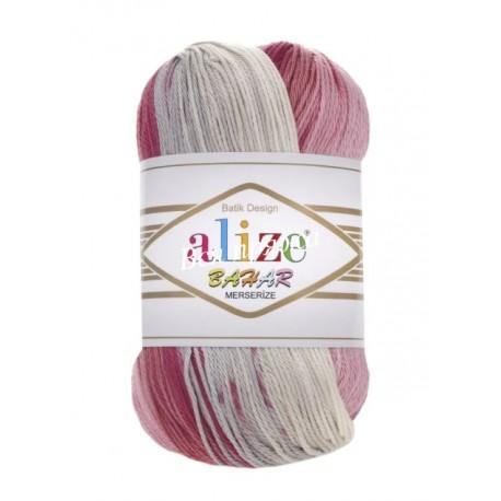 BAHAR BATIK Alize 5512 (Розовый-Серый-Беж) - Снят с производства
