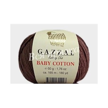 BABY COTTON Gazzal 3455 (Темное какао)