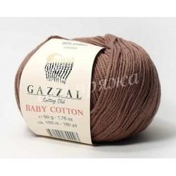 BABY COTTON GAZZAL 3434 (Светлый какао)