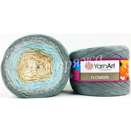 FLOWERS YarnArt 268